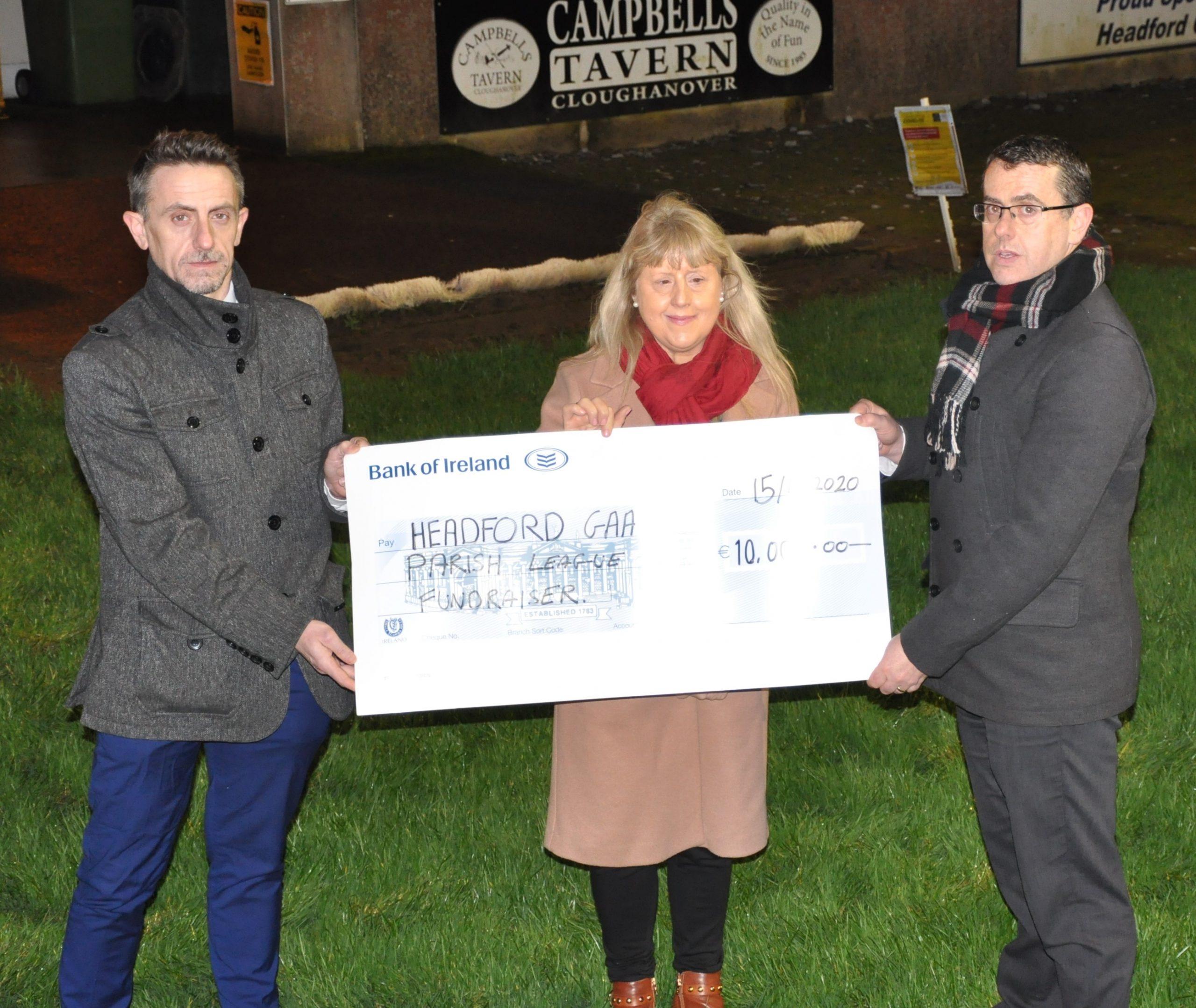 TJ Keady Parish League 2019 Donation